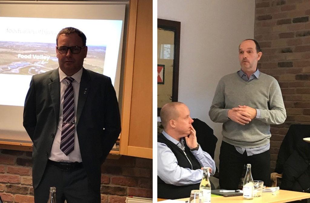 Mikael Henrysson, KSO och Bengt Fellbe, Näringslivssamordnare