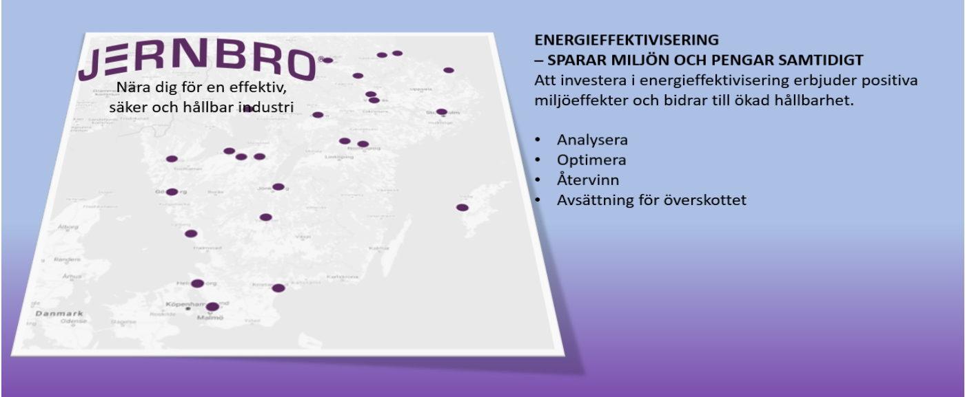 ENERGIEFFEKTIVISERING – SPARAR MILJÖN OCH PENGAR SAMTIDIGT